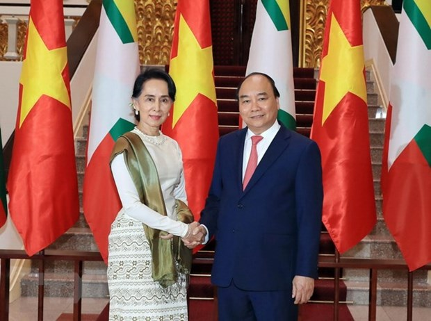 Vietnam, Myanmar look towards 1 bln USD in two-way trade hinh anh 1