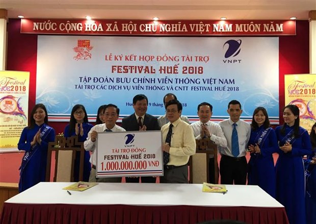 Hue Festival has two more sponsors hinh anh 1