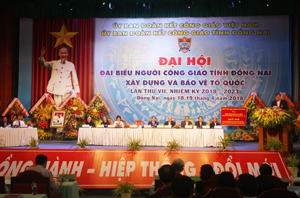 Dong Nai: Catholics donate 700 billion VND to charitable activities hinh anh 1