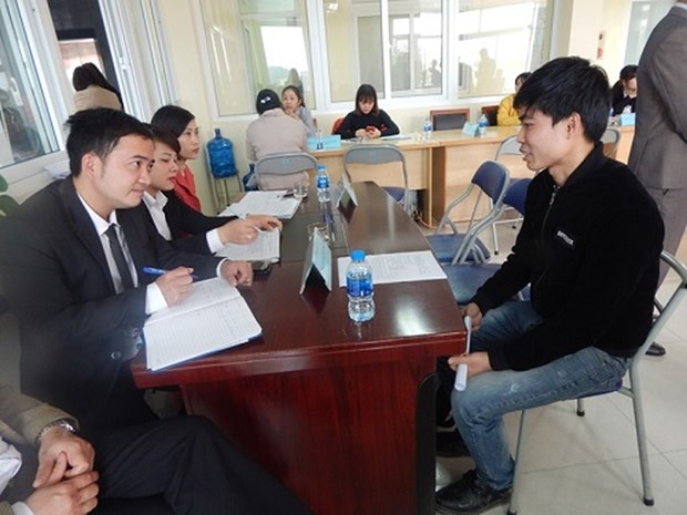 Bac Ninh holds job fair for workers returning from RoK hinh anh 1