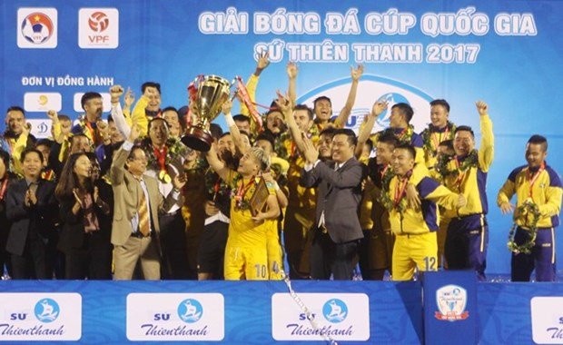 24 teams to compete in 2018 national football cup hinh anh 1