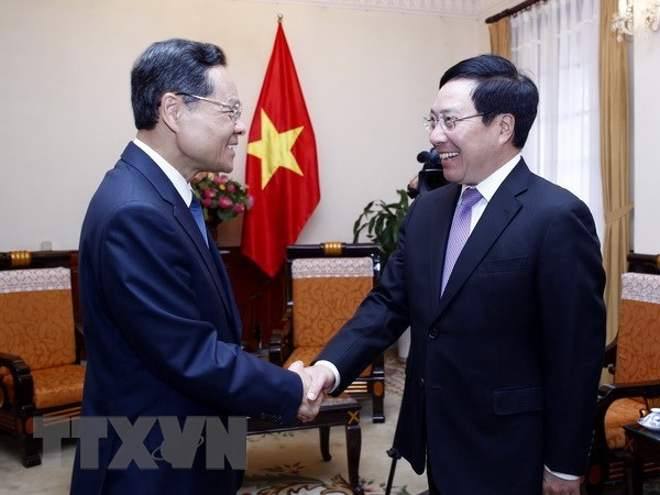 Deputy PM: Vietnam treasures relations with China hinh anh 1
