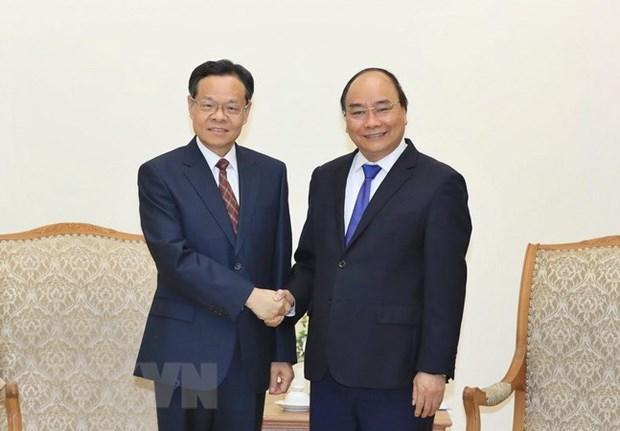 PM receives Chairman of Guangxi Zhuang Autonomous Region hinh anh 1