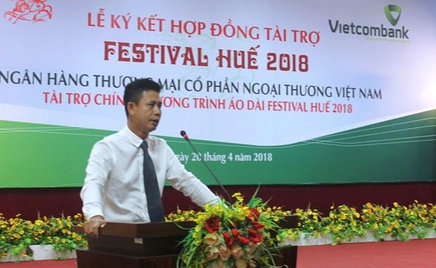 Vietcombank becomes bronze sponsor for Hue Festival 2018 hinh anh 1