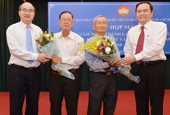 HCM City marks 50 years of alliance of national, democratic, peace forces hinh anh 1