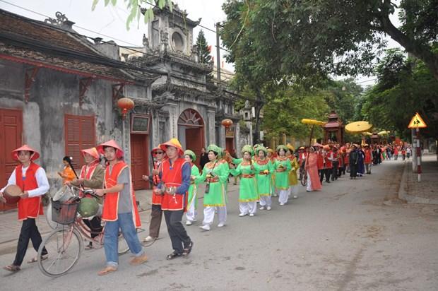 Pho Hien folk cultural festival kicks off in Hung Yen hinh anh 1