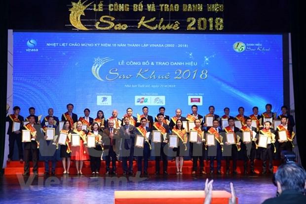 Sao Khue IT winners honoured hinh anh 1