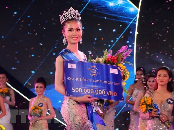 Tien Giang's beauty crowned Miss Sea Vietnam Global 2018 hinh anh 1