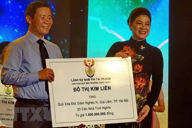 South Africa's Freedom Day celebrated in HCM City hinh anh 1