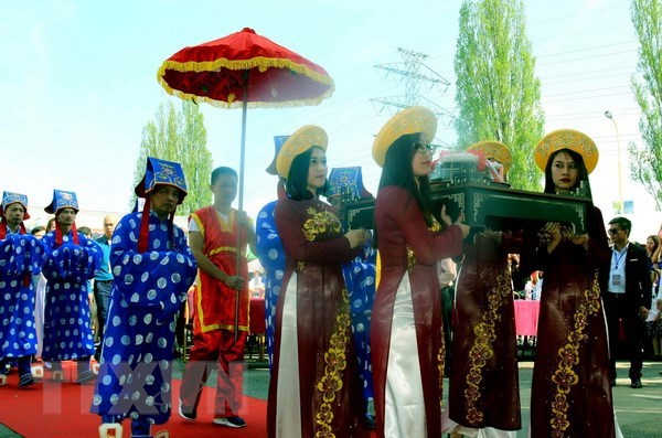 Hung Kings' death anniversary observed in Czech Republic hinh anh 1