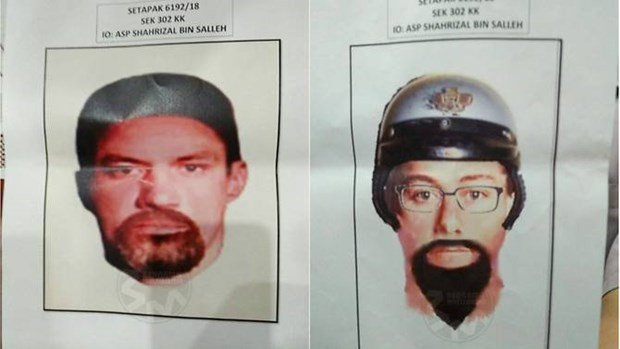 Malaysia releases images of suspects in Palestinian killing hinh anh 1
