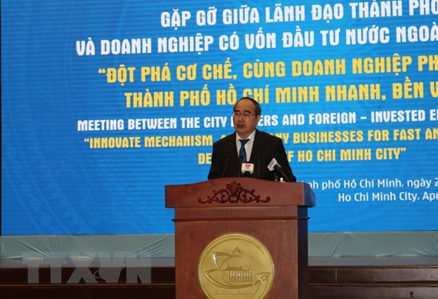 HCM City calls on FDI firms to support local sustainable development hinh anh 1