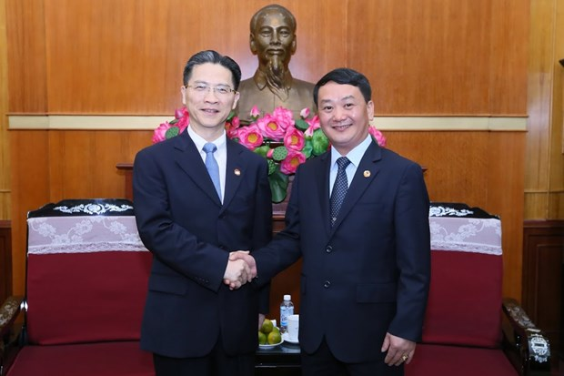 Shanghai CPPCC committee asked to bolster ties with VN localities hinh anh 1