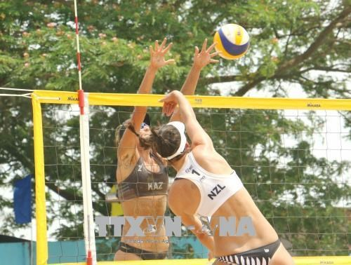 Kazakhstan crowned champion at AVC Women's Beach Volleyball tournament hinh anh 1