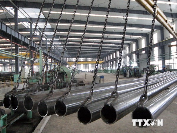 Steel to join Vietnam's major export lines hinh anh 1