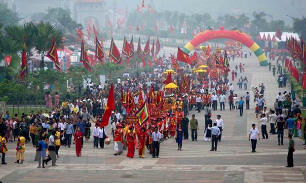 Over 2.5 million go on pilgrimage to ancestral land hinh anh 1