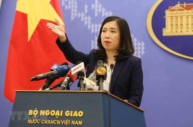Vietnam condemns China's illegal activities in Hoang Sa, Truong Sa hinh anh 1