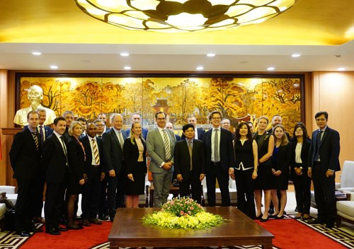 Hanoi welcomes Swedish investors hinh anh 1