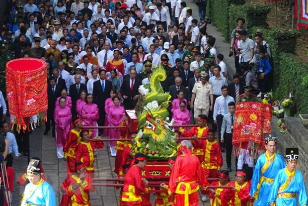 Ceremonies commemorate Hung Kings nationwide hinh anh 1