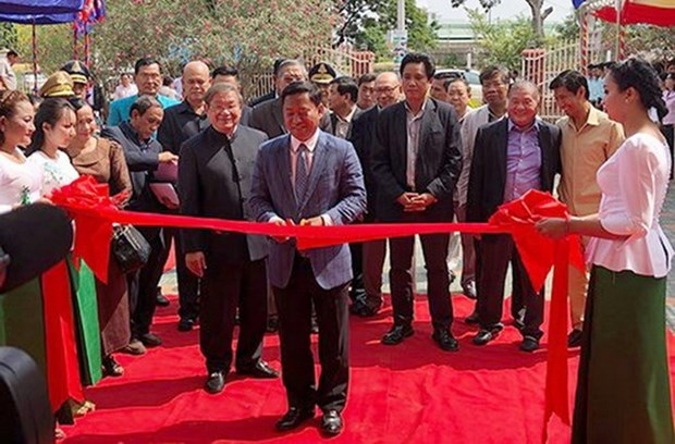 Vietnam-funded radio station inaugurated in Cambodia hinh anh 1