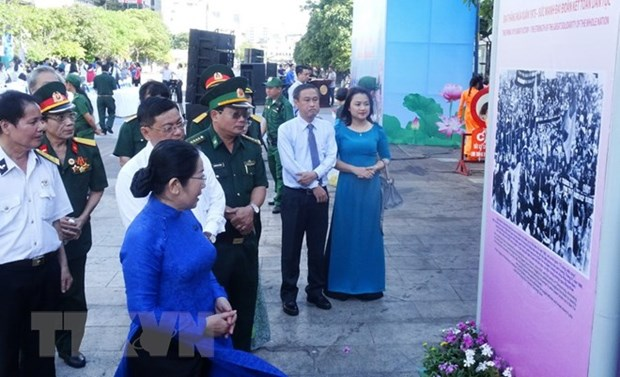Exhibition features HCM City history, development hinh anh 1