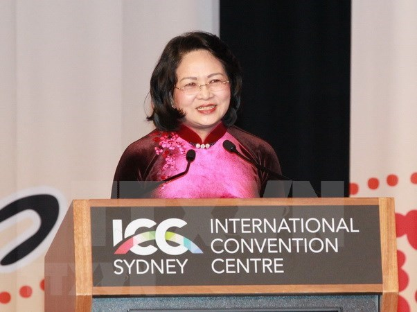 Vice President urges women to foster economic connectivity hinh anh 1
