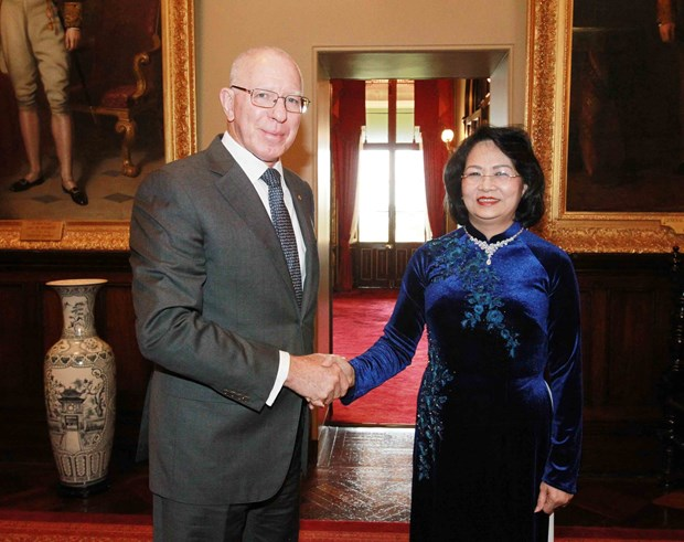 Vice President receives Australian foreign minister in Sydney hinh anh 2
