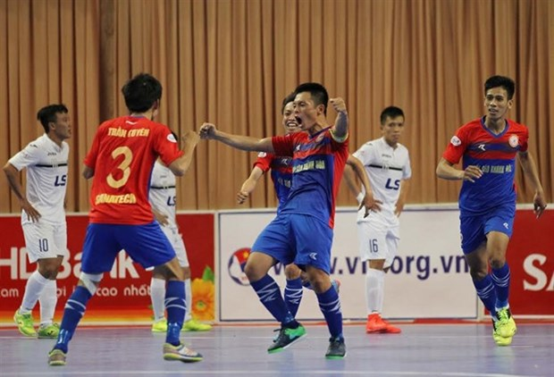 Vietnam in Group B of futsal club championship hinh anh 1