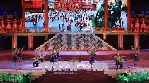 Hue Festival 2018 kicks off with firework show hinh anh 1