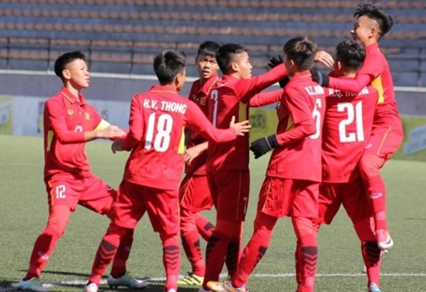 U16 Vietnam to compete in Asian tournament's Group C hinh anh 1