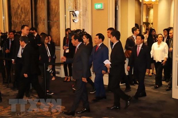 Vietnam applauds positive progresses in ASEAN Community building hinh anh 1