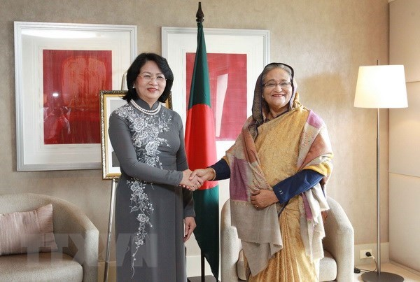 Vietnam wants to boost cooperation with Bangladesh: Vice President hinh anh 1