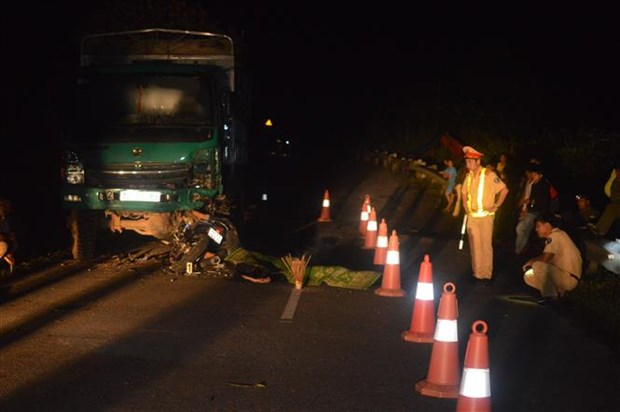 Traffic accidents claim about 2,790 lives in four months hinh anh 1