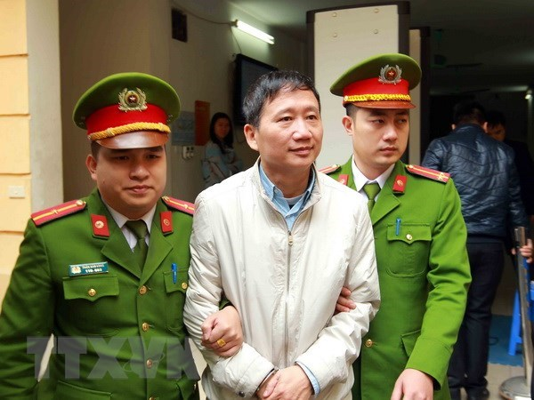 Appeal trial for Trinh Xuan Thanh, accomplices slated for May 7 hinh anh 1