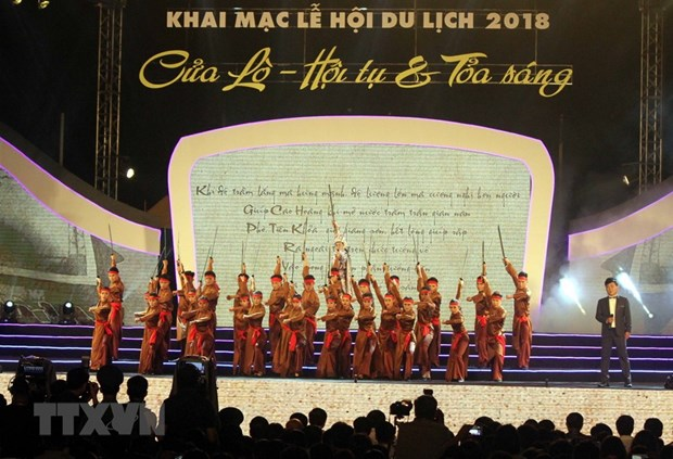 Cua Lo tourism festival kicks off in Nghe An province hinh anh 1