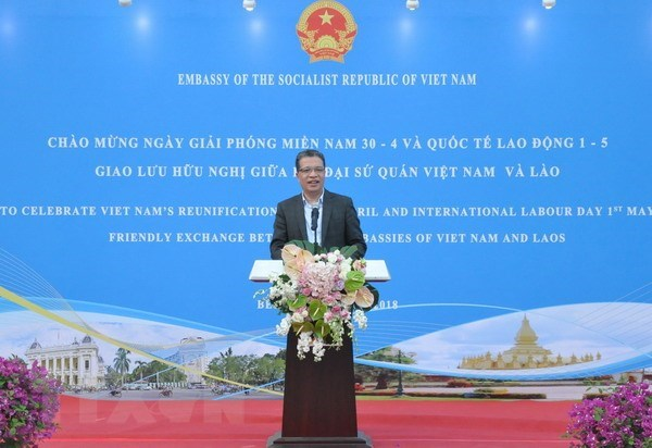 Vietnam's Reunification Day celebrated in China hinh anh 1