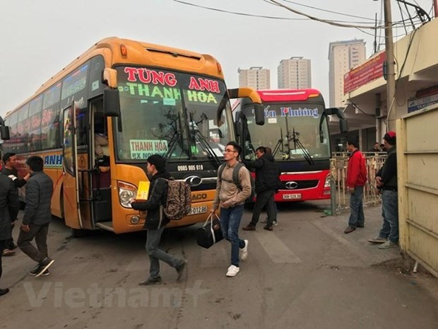 Hanoi to switch major bus stations into car parks by 2020 hinh anh 1