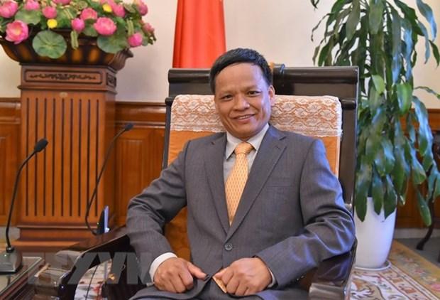 Ambassador Nguyen Hong Thao elected as ILC Vice Chairman hinh anh 1