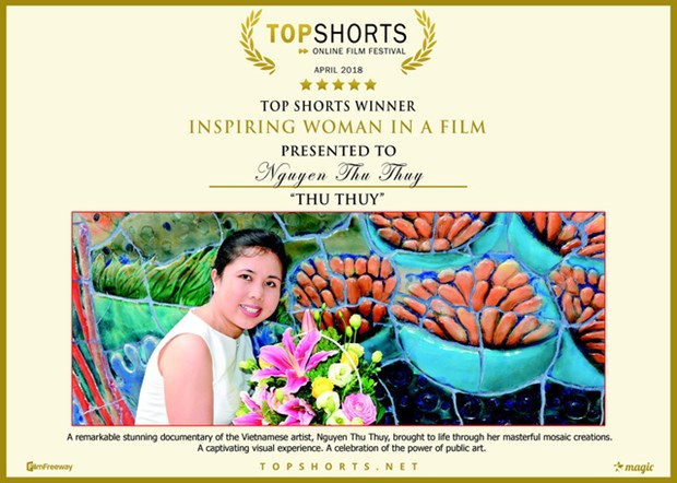 Vietnamese wins Top Shorts film awards hinh anh 2