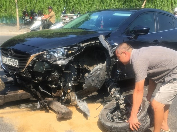 Traffic accident fatalities drop during four-day holiday hinh anh 1