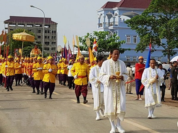 Cambodia celebrates Royal Ploughing Ceremony hinh anh 1