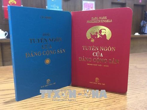 Pocketbooks of Communist Party Manifesto introduced to public hinh anh 1