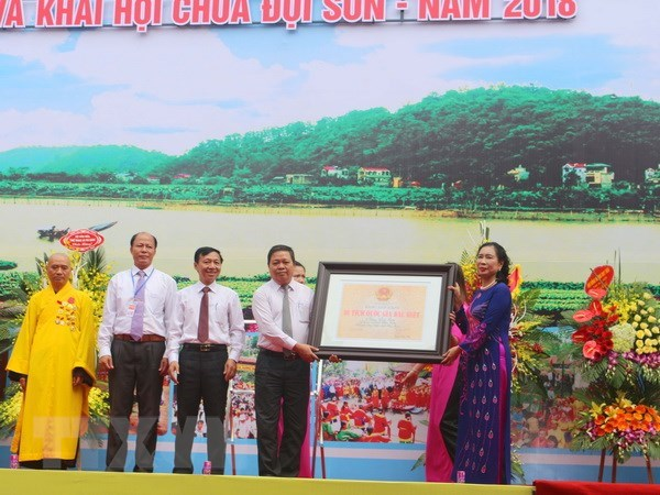 Doi Son pagoda in Ha Nam gets special national relic status hinh anh 1