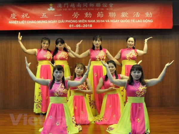 Overseas Vietnamese in Macau celebrate Reunification Day hinh anh 1