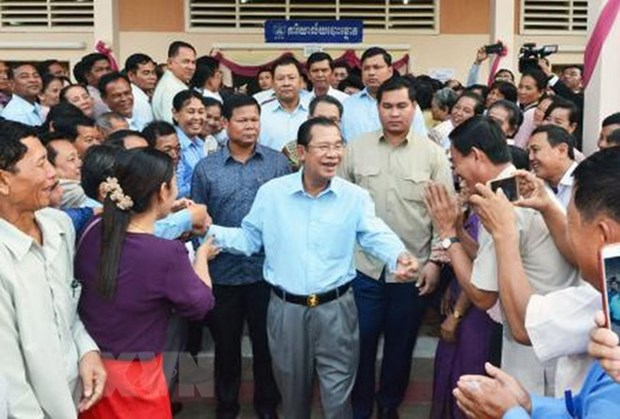 Cambodia starts communication campaign for general election hinh anh 1