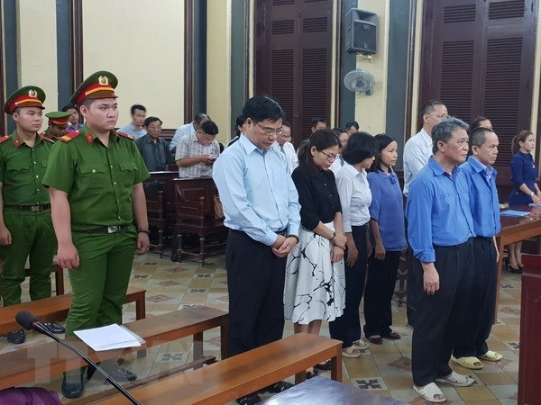 Penalties imposed on defendants involved in Trust Bank case hinh anh 1