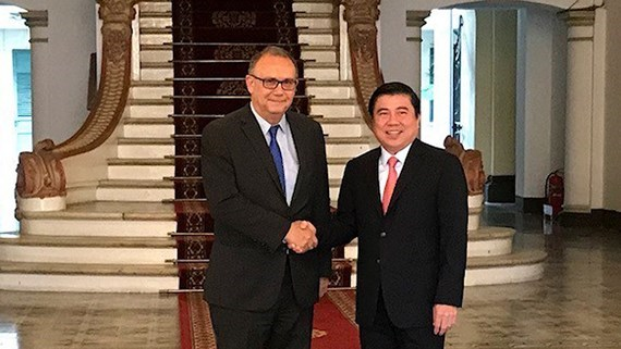 HCM City pledges optimal conditions for Peruvian investors hinh anh 1