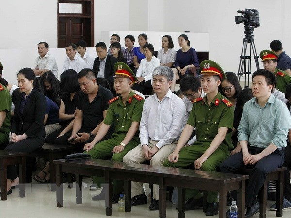 Court upholds sentences for three former leaders of OceanBank hinh anh 1