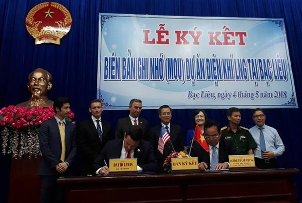 Four-billion-USD LNG-fueled power plant to be built in Bac Lieu hinh anh 1