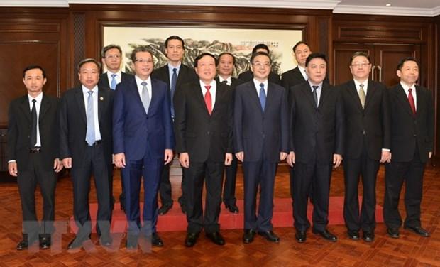 Vietnam, China look towards closer judicial relations hinh anh 1
